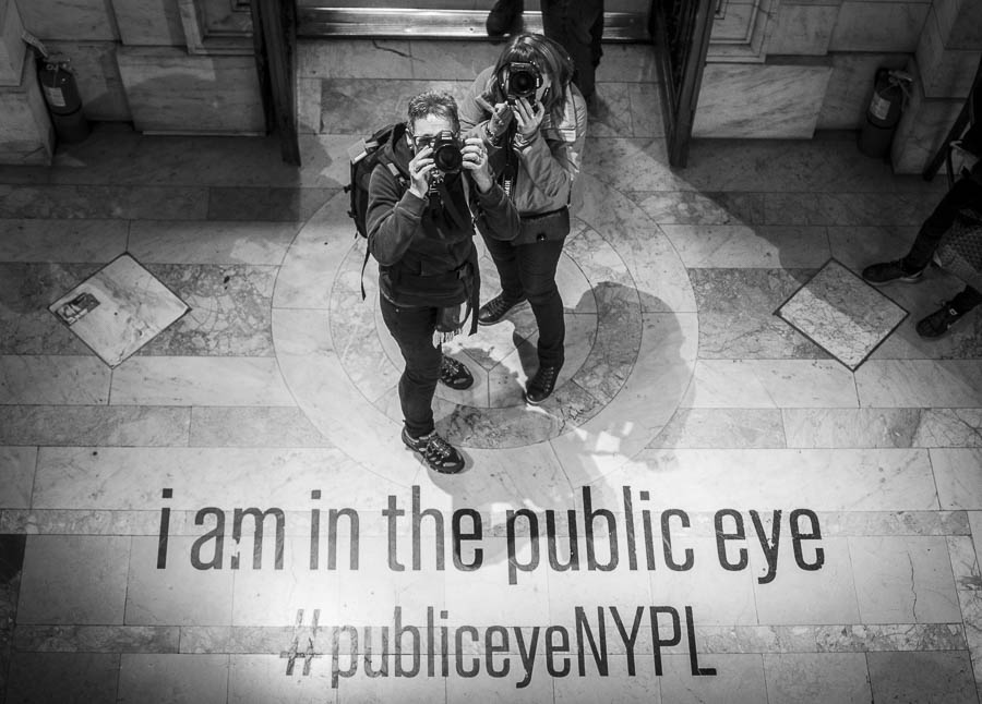 Met m'n roommate Carine in the Public Eye #publiceyeNYPL